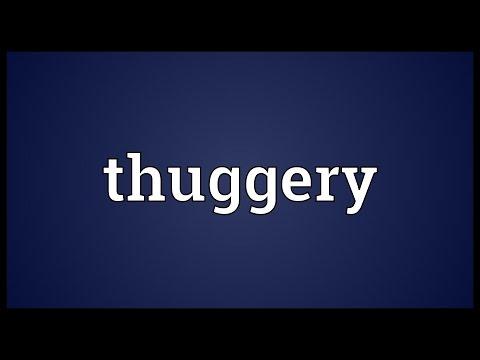 Header of thuggery