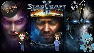 Starcraft 2: Wings of Liberty Part 1 - Stop The Senseless Slaughter - CharacterSelect