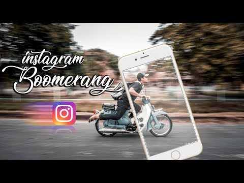 INSTAGRAM BOOMERANG ANTIMAINSTREAM - Tutorial #12