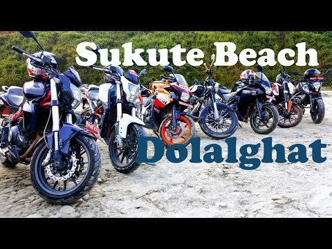 Ride to Sukute Beach Dollalghat |Ride Nepal| Vlog