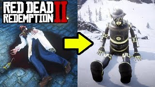 SECRET ROBOT EASTER EGG IN RED DEAD REDEMPTION 2! How to Location Guide RDR2!