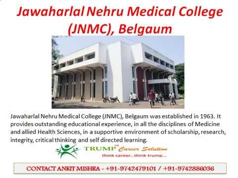 MBBS Admissions in Jawaharlal Nehru Medical College JNMC, Belgaum