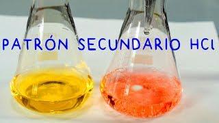 Preparación Solución Patrón Secundario HCl