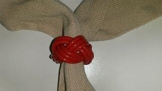 Nudo de pañoleta Scout, nudo cabeza de turco o de Gilwell - ChispiKids - Manualidades