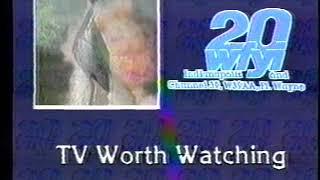 1986 - Fort Wayne, Indiana PBS ID/Bumper