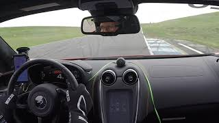 Thunderhill Short Drift In Turn 8 with McLaren 570GT