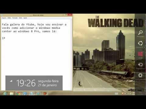 Adicionar Windows Media Center ao Windows 8 - Gratis