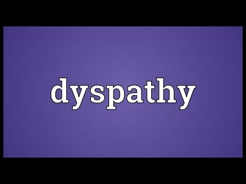 Header of dyspathy