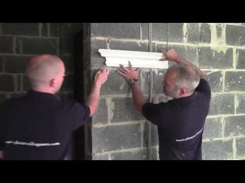Plaster Coving Installation - How to Cut A Stop End