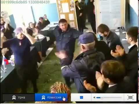 Chechen President Ramzan Kadyrov - Poll dance - webcam