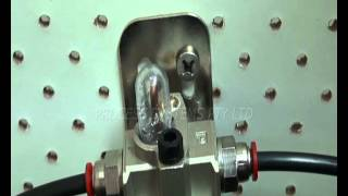 Series LUB - Air line lubricator in action