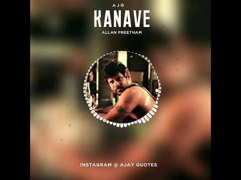 #David - bgm  Kanave Kanave   Anirudh  