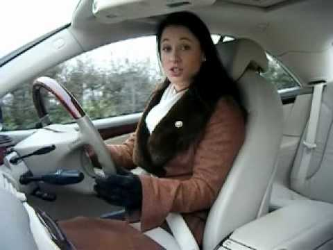 Girl Lady-like Petrol Head Reviews Mercedes Cl500 Rebecca Jackson video