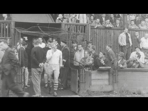 Reportáž z utkání Teplice - Vítkovice (rok 1952)