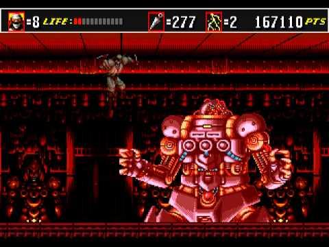 Shinobi 3 - Return of the Ninja Master [Hard Mode] (Sega Mega Drive/Genesis) - Full Game