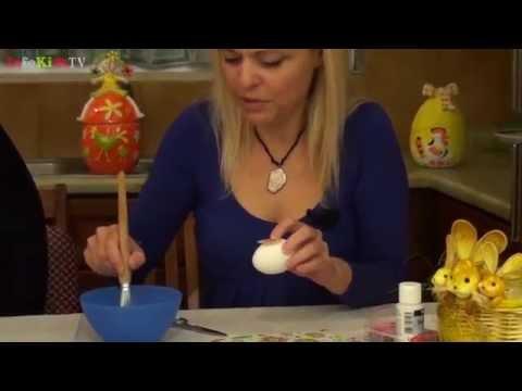 Πασχαλινές κατασκευές: Πασχαλινό αυγό