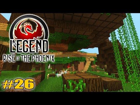 Krieg unter den Wurzeln!: Minecraft Legend #26 - Rise of the Phoenix
