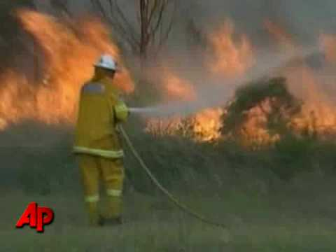 Firefighters Battle Wildfires in Australia