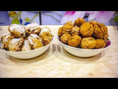 Ореховое печенье! Вкусный рецепт без муки!🥞🍪