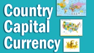 Country Capital Currency Tricks in Hindi   Static GK for CLAT SSC Banking IBPS, SBI, RRB PO/Clerk