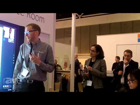 ISE 2015: Microsoft Demonstrates Surface Hub Meeting Experience