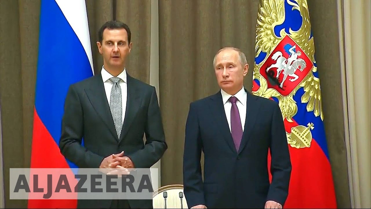 Assad and Putin meet to discuss post-war phase in Syria