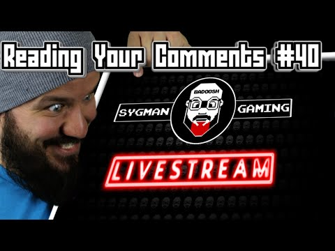 LIVE STREAM SCHEDULE   Reading Your Comments #40
