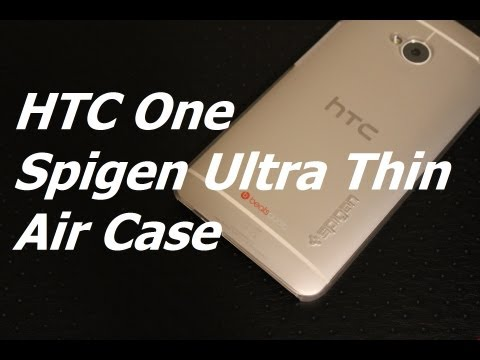 HTC One Spigen Ultra Thin Air Case Review