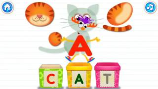 Learn ABC Alphabet With ABC in box learning apps for kids - Part C