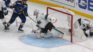 Ivan Barbshev stakes St. Louis Blues to early lead in Game 4