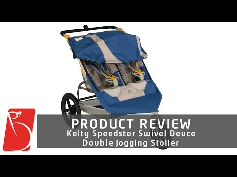 Kelty Speedster Swivel Deuce Jogging Stroller - Bikewagon.com
