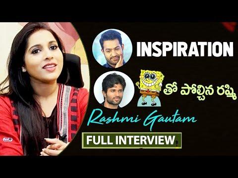 Rashmi Gautam and Hero Jai Anthaku Minchi Interview | Anchor Rashmi Interview | Vijay Devarakonda