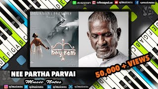 (Ilayaraja) Nee Partha - Janmon ki Jwala - Piano Notes - MIDI - Sheet Music - Karaoke