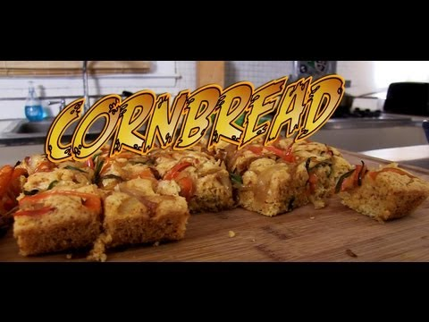 Cornbread - Cooking with The Vegan Zombie