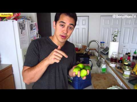 Healthy Food Grocery List- BenjiManTV