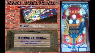 Visual Pinball Stream from Canada- Black Jack -