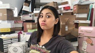 BIGGEST PR UNBOXING EVER (lol) | Roxette Arisa Vlogs