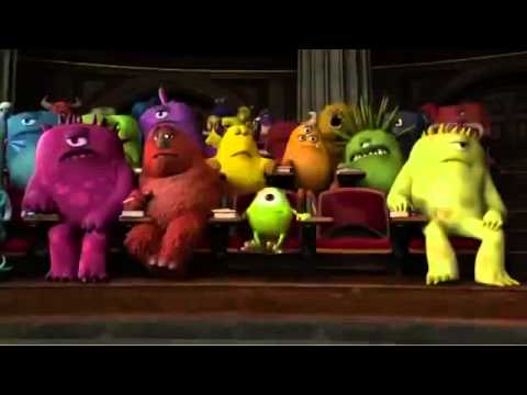 Monsters University Japanese Trailer
