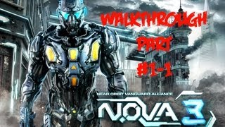 N.O.V.A. 3 - Near Orbit Vanguard Alliance - Universal - Walkthrough Part #1 - 1