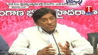 MP Vinod Kumar Speaks About Atal Bihari Vajpayee | TRS Bhavan  live Telugu