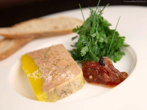 Terrine de foie gras par Éric Léautey