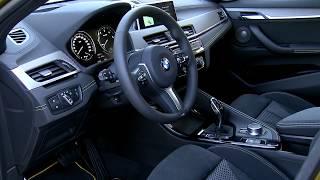 2018 BMW X2 interior design