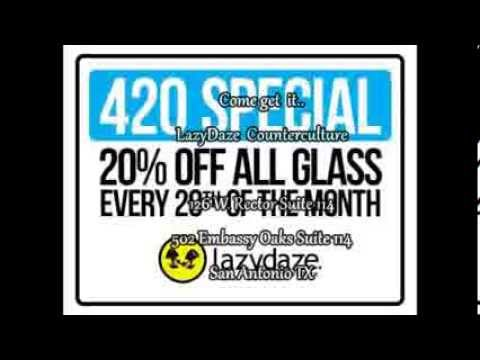420 Special Every month @Lazydaze Counterculture