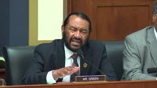 Rep. Al Green Questions HUD Secretary Ben Carson on CDBG-DR Funds & FHA Alternative Credit