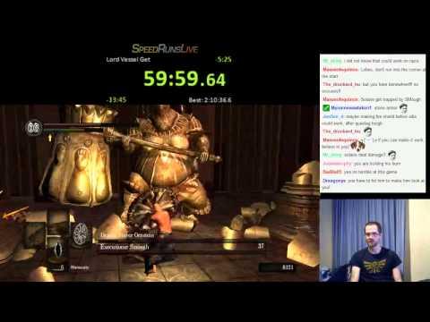 Dark Souls Shield-Only speedrun (No CMW glitch) 2:42:39