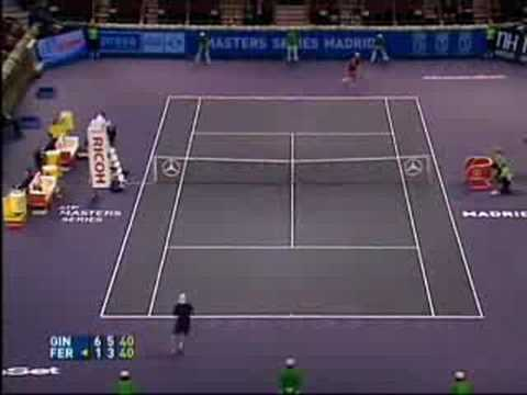 Robby Ginepri - Madrid highlights