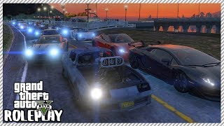 GTA 5 Roleplay - Akina Downhill 30 Man Car Race | RedlineRP #251