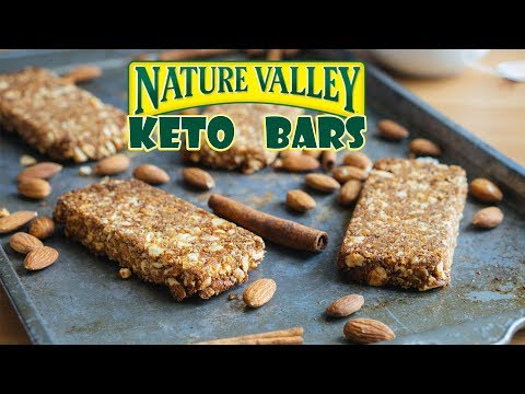 The Ultimate Low Carb Bars | Nature Valley Copy Cat Recipe