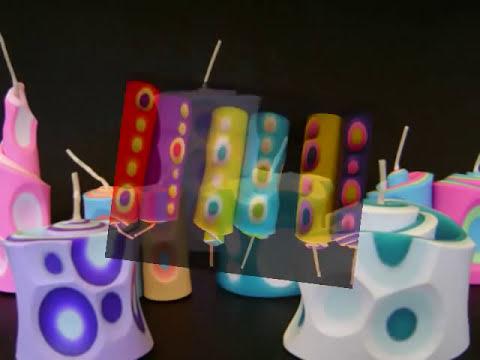 Velas Aromaticas Decorativas -Catalogo en Video- Mara Diseño