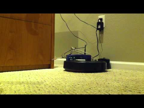wrt54g wifi irobot roomba vacume